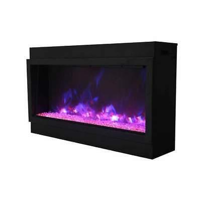Amantii Extra 50-In Built-In Electric Fireplace - Indoor/Outdoor