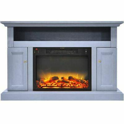 Sorrento Fireplace Log Display Stand