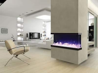 Amantii Tru-View Electric Fireplace,