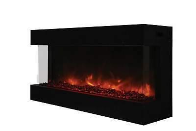 tru view series indoor outdoor electric fireplace