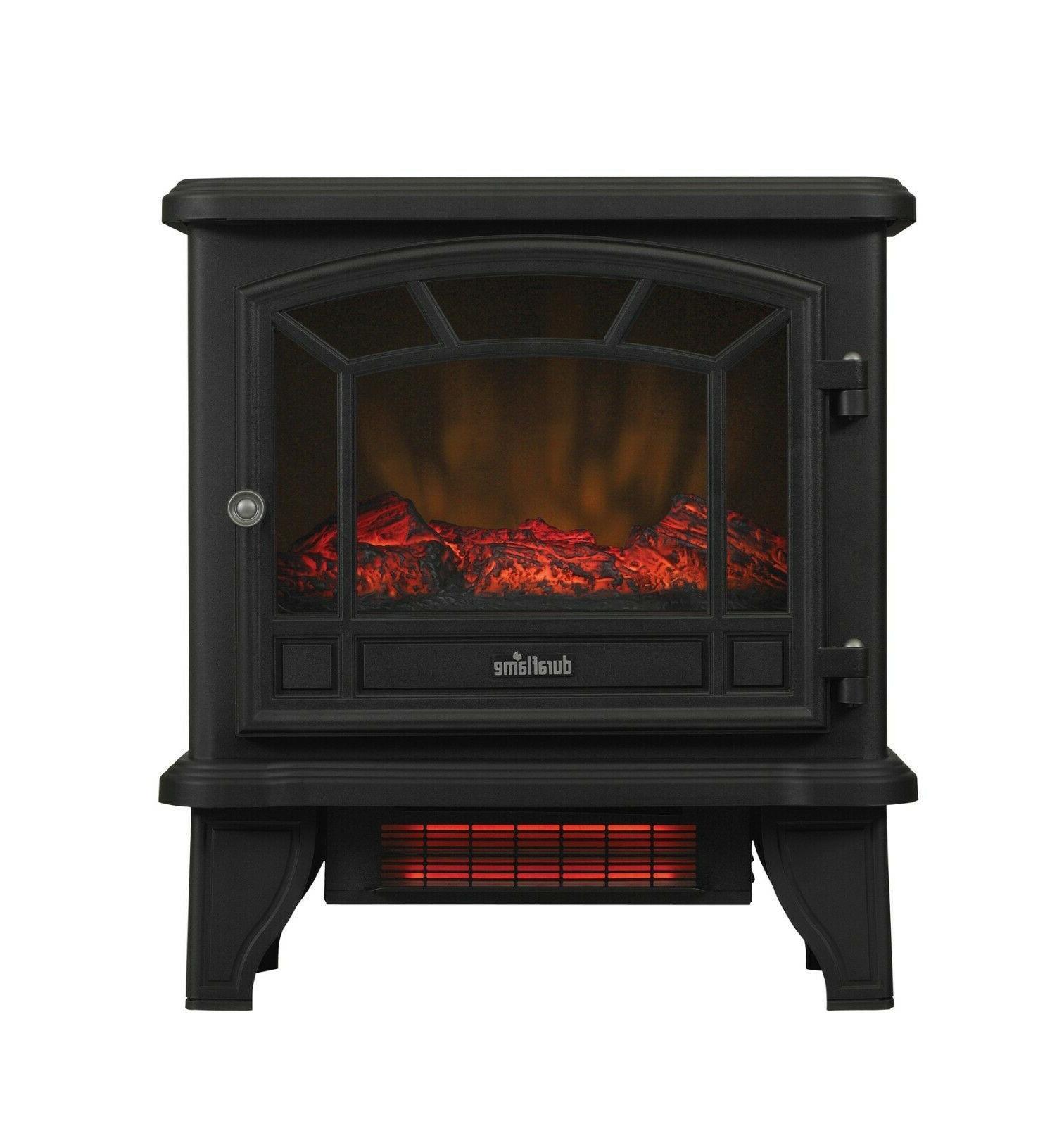 Infrared Freestanding Electric Stove Heater Quartz 5200 BTU