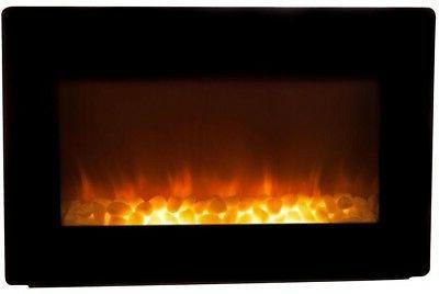 Wall Mount Heater Adjustable 30 inch Btu Black
