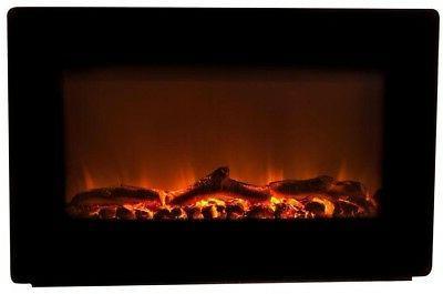 Wall Heater 1400 30 inch Btu Black