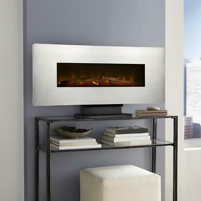 wall mount electric fireplace zinc