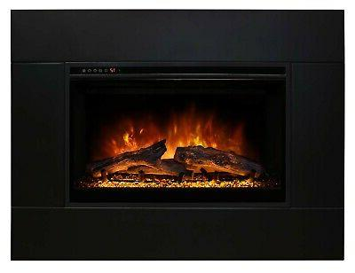 "Modern ZCR2 29-Inch Fireplace Insert, 43"" 26"" Trim Kit"
