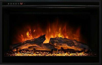 zcr2 series 29 inch electric fireplace insert