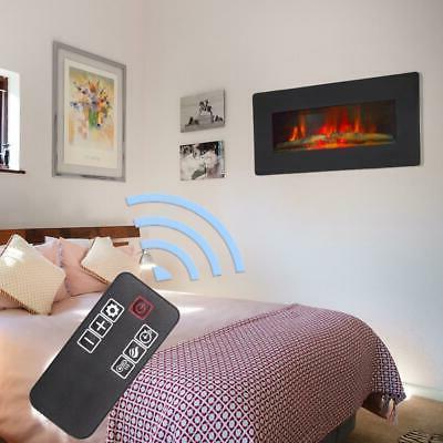 zokpo 1400w wall mount electric fireplace heater