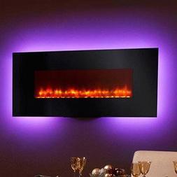 "Simplifire 58"" Modern Linear Wall Mount Electric Fireplace"