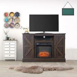 """New 18"""" Fireplace Remote Control Up to 47"""" TV Stand Console"""