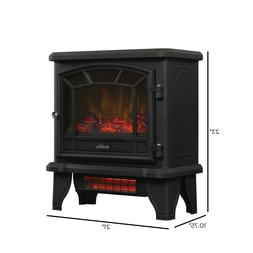 New Infrared Freestanding Fireplace Electric Stove Space Hea