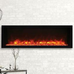Amantii Panorama Extra Slim 50-In Built-In Electric Fireplac