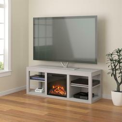 Ameriwood Home Parsons Electric Fireplace TV Stand for TVs u