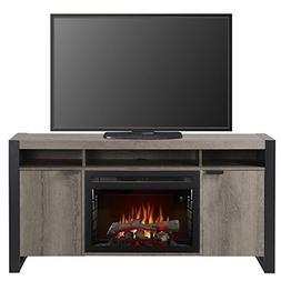 Pierre Fireplace Steeltown Realogs Media Console - 25 inch