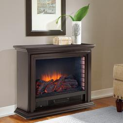 Portable Electric Fireplace Heater With Remote TV Stand Indo