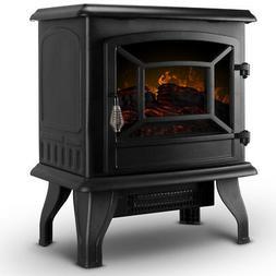 Della© Portable Freestanding Electric Fireplace Stove w