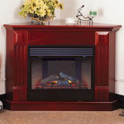 ProCom Deluxe Electric Corner Fireplace With Remote Control