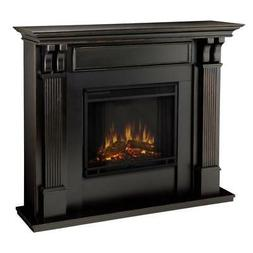 Real Flame Ashley Indoor Electric Fireplace - Black Wash