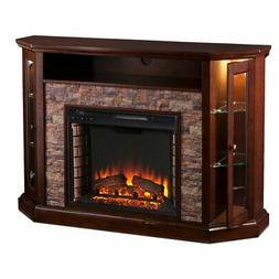 Southern Enterprises Redden Convertible Electric Media Firep