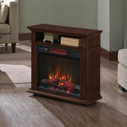rolling heater electric fireplace mantel 23irm7491 w500