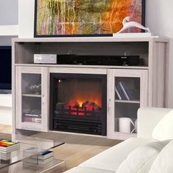 """Room Adjustable Electric Fireplace 42.5"""" Large 1250 W  TV st"""
