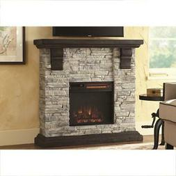 Highland 40 in. Media Console Electric Fireplace TV Stand in