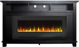 Cambridge San Jose 58 in. Freestanding Electric Heater TV St
