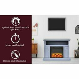"Sorrento Electric Fireplace w/Enhanced Log Display and 47"" S"