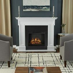 Thayer Electric Fireplace - Gray