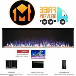 """Napoleon Trivista 3-Sided Electric Fireplace, 60"""" Inch Mult"""