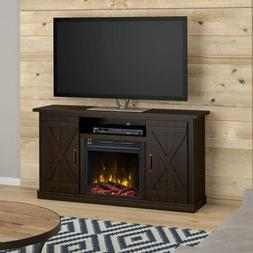 """Lorraine TV Stand for TVs up to 55"""" with Electric Fireplace"""