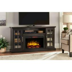 """Tv Stand With Infrared Electric Fireplace With Remote 59"""" Fi"""