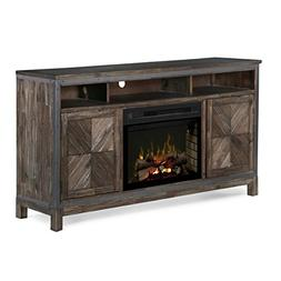 Wyatt Media Console with 25 Multi-fire logset firebox- Barle