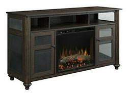 "Dimplex Xavier 56.13"" TV with Electric Fireplace"