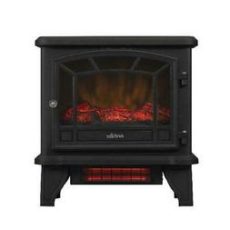 ZOKOP Electric Fireplace Stove + Fake wood 1500w Mechanical